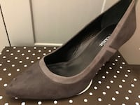 Brand New Kelly & Katie Grey Suede Heels Savage, 55378