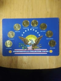 PRESIDENTIAL GOLD COLOR COLLECTOR COINS Rancho Cordova, 95670