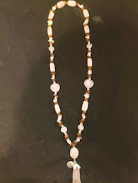 Rose quartz holistic necklace Centreville, 20121