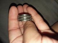 silver-colored diamond ring Bakersfield, 93308