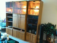 brown wooden cabinet with mirror Olney, 20832