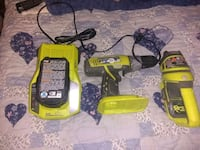 Ryobi cordless drill charger and battery for sale. Norfolk, 23502