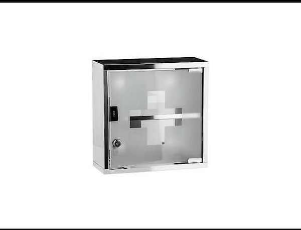 Square medical cabinet brand new