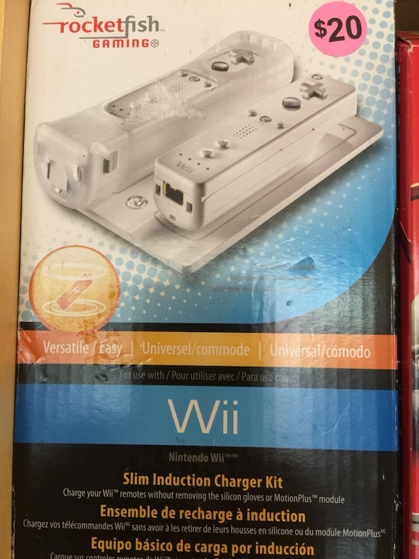 Wii charge kit with two batteries