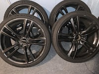 "20"" Staggered 303m BMW OEM Powder Coated Wheels Upper Chichester, 19061"