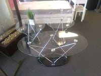Modern Glass 3 PC. Coffee Table Set.  Brand New.  Houston, 77074
