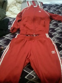 red and white Nike track pants Edmonton, T5K