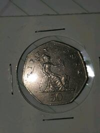 1997 Fifty Pence Coin