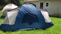 blue and black dome tent Morenci, 49256