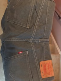 Mens Levis 559 Relaxed Straight Grey Jeans Size 34/ 32 Suitland, 20746