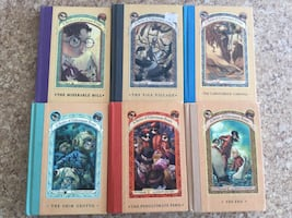Hard Cover A series of Unfortunate Events