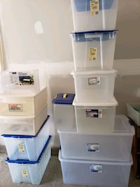 Clear View Storage Totes