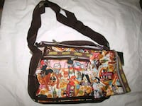 multicolored crossbody bag