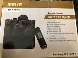 Remote control battery pack $100