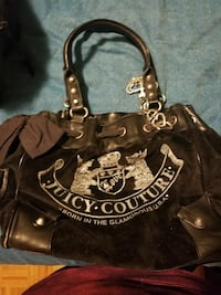 Juicy couture suede purse Toronto, M3H 3N5