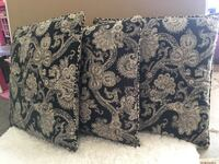 brown and black floral throw pillow Madison, 39110