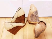 Wedge Shoes- $30 for both Edmonton, T5X 0C7