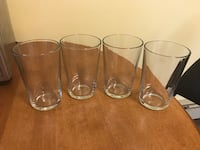 4 Drinking Glasses. Brand New! All for $4