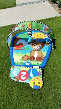 Playmat and stepping stool/potty chair