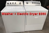 Whirlpool washer and Electric dryer East Hartford, 06108
