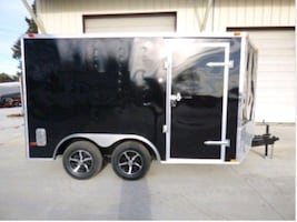 10 foot enclosed utility trailer