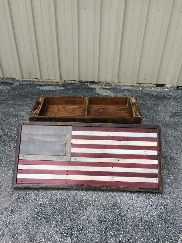 American ( USA ) Flag Table Wall Mount 4a327585-5635-4a2a-a5ac-e1d4731e42e4