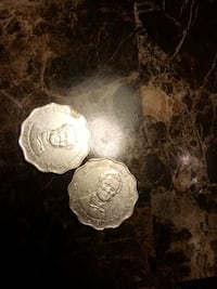 two silver-colored coins Falls Church, 22042