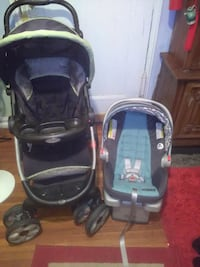 Graco stroller with car seat.  New York, 11375