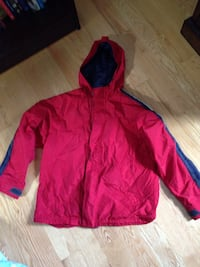 Gap Kids size XL Red Autumn jacket with hood
