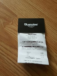 $25 bluenotes gift card for $20 :) London, N6E 2S4