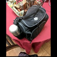 Insulated lunch bag with thermos