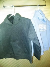 2-Boys size 10/12 sweaters with hoodie's!!! 2347 mi