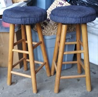 Padded stools $15 for both.