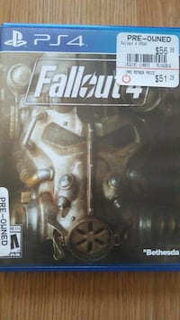 Fallout 4 PS4 game case Sanford, 32771