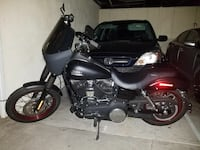 black and gray cruiser motorcycle Los Angeles, 90006