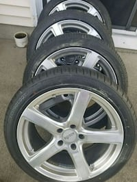 4 moda rims and tires  Middletown, 10940