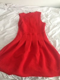 women's red sleeveless dress Södertälje