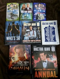 Doctor Who books (8 books, worth $150 new) Mississauga, L5W 1H4