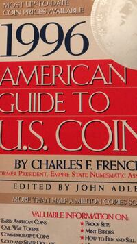 American Guide to U.S. Coins 1996 Graham, 27253