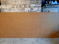 "Peg board -organize living spaces 6' x 30"" Burlington, L7M"