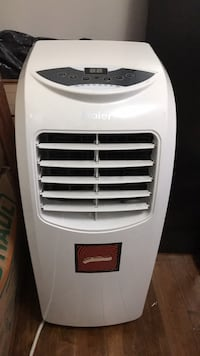 white and black portable air conditioner Mississauga, L5R 2T6
