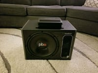 Powerbass sub and amp Roswell, 30076