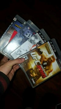 four Sony PS3 Games Port Colborne, L3K 2L5