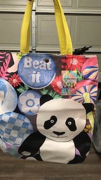 Lisa Grue panda bag