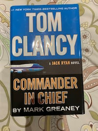 Tom Clancy and Commander in Chief Vaughan, L4J 6G2