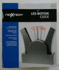 LED Motion Clock