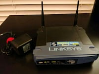 Linksys wireless G router WRT54GS Reston, 20191