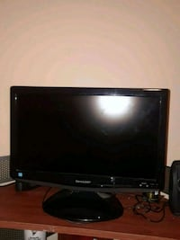 black Dell flat screen computer monitor West Fargo, 58078