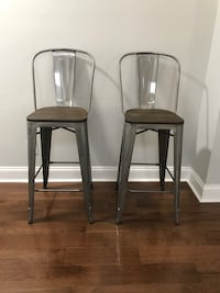 Two Counter Stool Chairs Abingdon