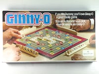 Vintage 1981 Ginny-O Board Game MONTREAL